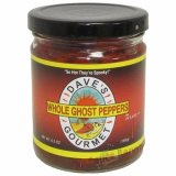 Dave's Whole Ghost Peppers, 6.5oz